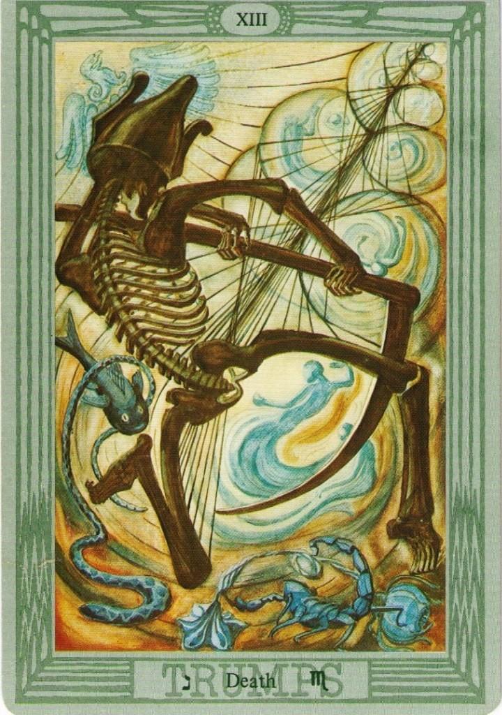 значение карты Смерть таро Тота