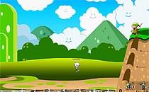 Играть онлайн Соник и Марио против зомби бесплатно