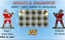 Играть онлайн Битва Санты бесплатно