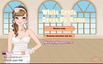 Играть онлайн Подбери наряд: невеста в белом бесплатно