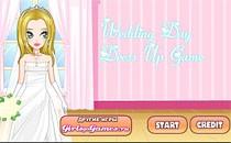 Играть онлайн Одевалка: день свадьбы бесплатно