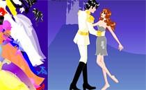 Играть онлайн Одевалка Цветная Свадьба бесплатно