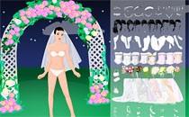 Играть онлайн Одевалка Ночная Невеста бесплатно