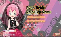Играть онлайн Наряд для невесты-панка бесплатно