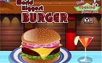 Играть онлайн Самый большой бургер в мире бесплатно