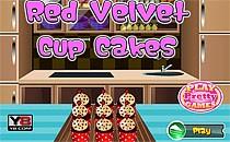 Играть онлайн Пироженые Красный вельвет бесплатно