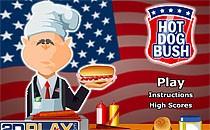 Играть онлайн Хот-дог Буша бесплатно
