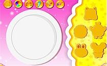 Играть онлайн Приготовление печенья в виде животных бесплатно