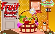 Играть онлайн Украшения корзины с фруктами бесплатно
