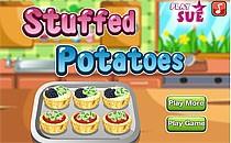 Играть онлайн Рецепт с фаршированным картофелем бесплатно