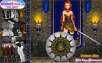 Играть онлайн Модная и воинственная принцесса бесплатно