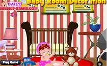 Играть онлайн Комната для малышки бесплатно