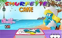 Играть онлайн Смурфики торты бесплатно