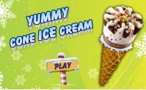 Играть онлайн Вкусное мороженное бесплатно