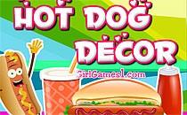 Играть онлайн Укрась хот-дог бесплатно