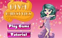Играть онлайн Прически для звезды эстрады бесплатно