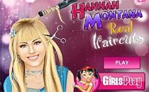 Играть онлайн Ханна Монтана настоящие стрижки бесплатно