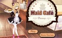 Играть онлайн Одеваем официантку бесплатно