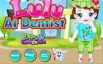 Играть онлайн Малышка Лулу у дантиста бесплатно