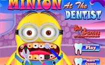 Играть онлайн Миньон у стоматолога бесплатно