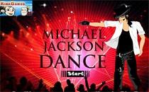 Играть онлайн Танец Майкла Джексона бесплатно