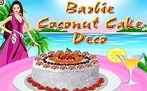 Играть онлайн Барби. Кокосовый торт бесплатно