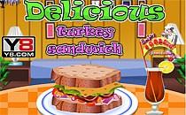 Играть онлайн Вкуснейший сэндвич с индейкой бесплатно