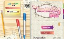 Играть онлайн Тест: твой почерк бесплатно
