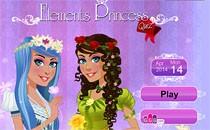 Играть онлайн Тест: стихийная принцесса бесплатно