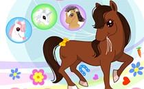 Играть онлайн Тест: пони в городе бесплатно