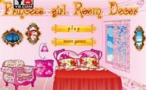 Играть онлайн Украшение комнаты принцессы бесплатно