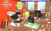 Играть онлайн Уборка в салоне красоты бесплатно