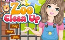 Играть онлайн Уборка в зоопарке бесплатно