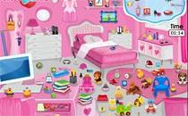 Играть онлайн Уборка в комнате принцессы бесплатно