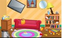 Играть онлайн Уборка во всем доме бесплатно