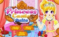 Играть онлайн Принцесса прибирается в замке бесплатно