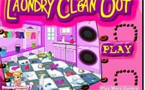 Играть онлайн Уборка в прачечной бесплатно