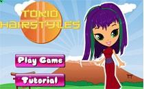 Играть онлайн Прически в Токио бесплатно