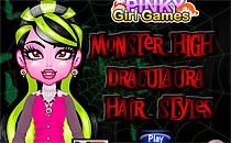 Играть онлайн Прическа для Дракулауры бесплатно
