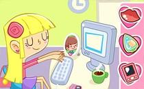 Играть онлайн Офисная лентяйка 10 бесплатно