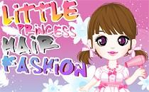 Играть онлайн Прическа маленькой принцессы бесплатно