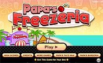 Играть онлайн Кафе-мороженое Папы бесплатно
