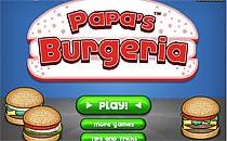 Играть онлайн Бургерная Папы бесплатно