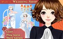 Играть онлайн Свадебный магазин Мэри бесплатно