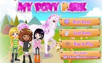 Играть онлайн Мой парк для пони бесплатно