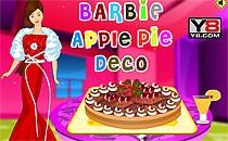 Играть онлайн Украшение пирога для Барби бесплатно