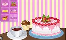 Играть онлайн Забавное украшение торта бесплатно