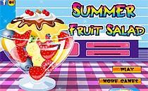 Играть онлайн Летний фруктовый салат бесплатно