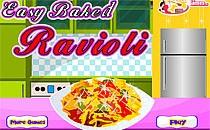 Играть онлайн Легкие запеченные равиоли бесплатно
