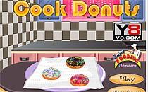 Играть онлайн Кулинария - пончики бесплатно